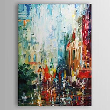 fr peint a la main peinture abstraite avec cadre etire pret accrocher p