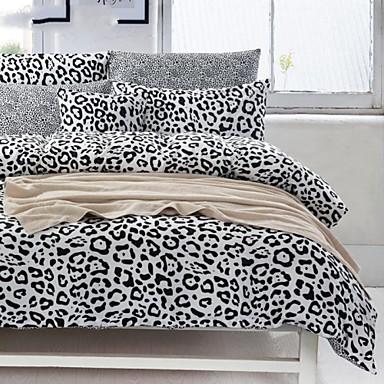 ensembles housse de couette coton noir blanc de 2015. Black Bedroom Furniture Sets. Home Design Ideas