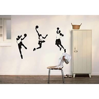 Fan de baloncesto nba murales calcoman as pegatinas de for Pegatinas murales pared