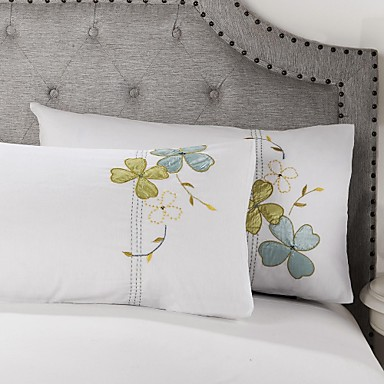 Beautiful cotton fabric decorative pillow case set of 2 - Fabric for throw pillows ...