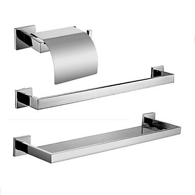 De acero inoxidable pulido espejo del cuarto de ba o - Accesorios bano acero inoxidable ...
