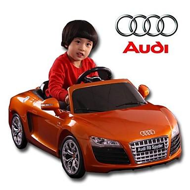 lizenziert audi kinder fahren auf auto teig betrieben r. Black Bedroom Furniture Sets. Home Design Ideas