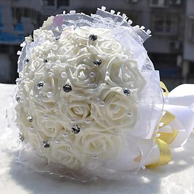 Mariage blanc bouquet de la mari e avec des perles et strass de 2539023 2017 - Strass pour bouquet de mariee ...