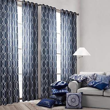 One Panel Curtain Modern Bedroom Polyester Material Curtains Drapes Home Decoration For Window 2654391 2017 24 79