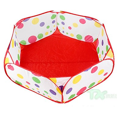 pentagonal juguete piscina de bolas para nios al aire libre u