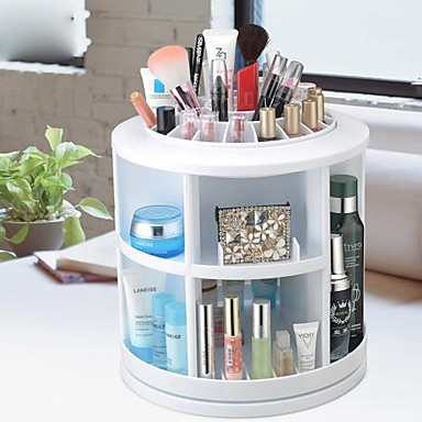 360 de rotation cosm tiques support de stockage bo te de - Organisateur de maquillage ...