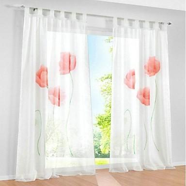 hot handgemaakte inkjet pure voile raam schermen woonkamer gordijn ...