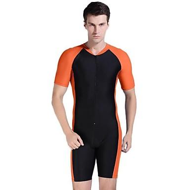 Hombres multicolor traje de buceo deportivo de protecci n solar nylon traje de ba o 2663656 2017 - Traje de bano hombre ...