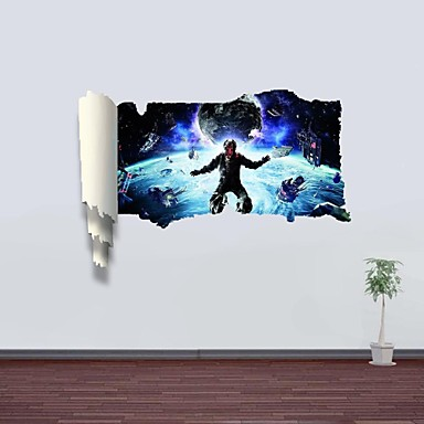 3D Wall Stickers Wall Decals, Outer Space Decor Vinyl Wall Stickers 2697676  2017 - $23.99