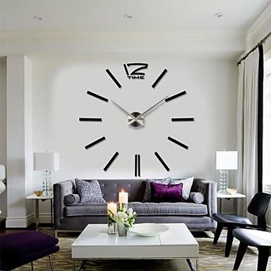 Large Decorative Wall Clock 2015 new home decor big digital wall clock modern design large