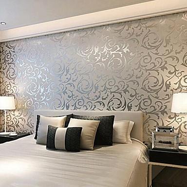 Art contemporain de papier peint d co murale couvrant 3d art non tiss mur de papier de 2016 - Papier peint ontwerp contemporain ...