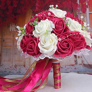 ein bouquet von 30 pe simulation rosen wedding sind. Black Bedroom Furniture Sets. Home Design Ideas