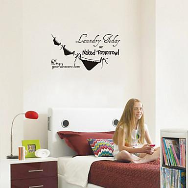 murali stickers adesivi murali lavanderia oggi parole inglesi cita adesivi pvc bagno del 2913025 2017 a 699
