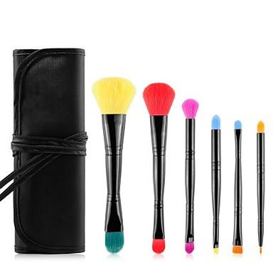 msq® 6pcs makeup brushes set hypoallergenic/limits