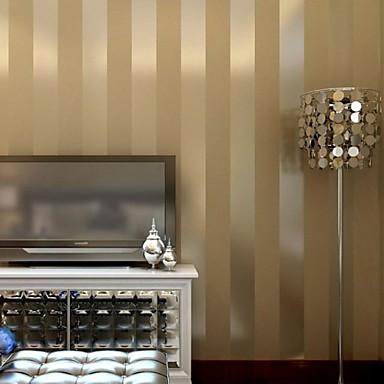 or de luxe papier peint rayures et beige mur de papier. Black Bedroom Furniture Sets. Home Design Ideas