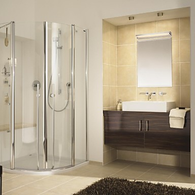 Illuminazione bagno moderno contemporaneo di metallo - Illuminazione bagno moderno ...