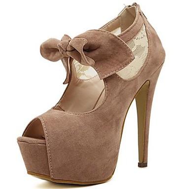 Zapatos Mujer Tacon Y Plataforma