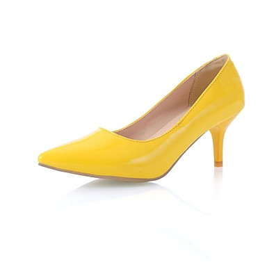 Wholesale Yellow 3.2 inch High Heels Wedding Shoes Lady Formal Dress Shoes Women's Fashion Shoes DY883-A1 NO:52, Free shipping, $31.42/Piece | DHgate Mobile