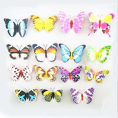 aimants de r frig rateur aimant ventouse avec des papillons papillon color simulation haute. Black Bedroom Furniture Sets. Home Design Ideas