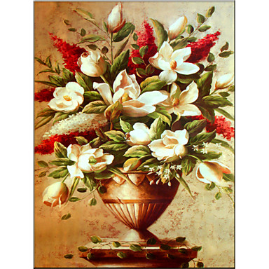 Pintura al leo de estilo de la flor el material de for Decoracion en madera para el hogar