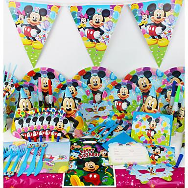 78pcs mickey mouse beb pel cula decoraciones fiesta de - Decoracion cumpleanos para ninos ...