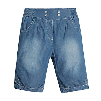 Kid's Casual Jeans (Cotton Blend)