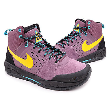 Nike Action Outdoor M ACTOUT NIKE ALDER MID-580-201312 PURPLE SHADE/LASER ORANGE-BLK 599660-580