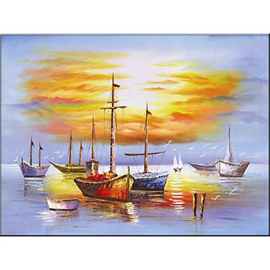 Pintura al leo de estilo landscap material de tela con for Decoraciones para el hogar catalogo
