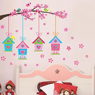 Bot nico romance florales pegatinas de pared calcoman as for Calcomanias para paredes decorativas