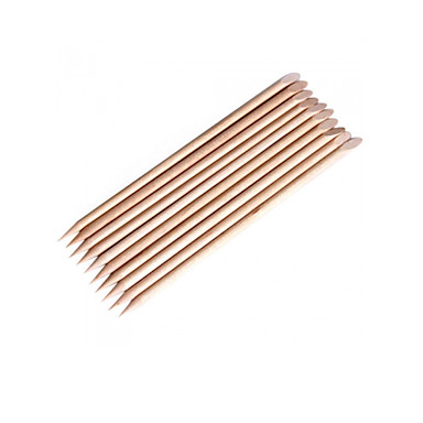 12pcs del arte del clavo de la cut cula palo de madera de - Clavos para madera ...