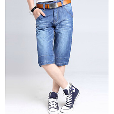 u haifisch m nner d nnes beil ufiges sommer mode jeans. Black Bedroom Furniture Sets. Home Design Ideas