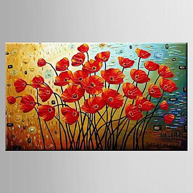 peint la main paysage nature morte a fleurs botaniquemodern un panneau toile peinture l. Black Bedroom Furniture Sets. Home Design Ideas