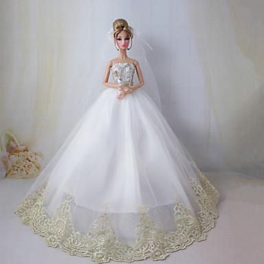 Barbie doll wedding dress the dream wedding 2589859 2016 for Barbie wedding dresses for sale