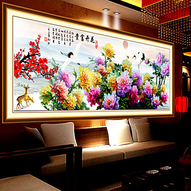 paste stitch embroidery living room large painting paintings 03729496