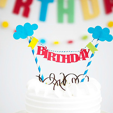 happy birthday cake bunting banner kit diy birthday cake topper on cake happy birthday banner