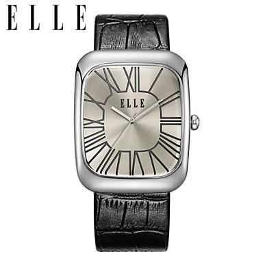 Black Dial,square Ladies Watch