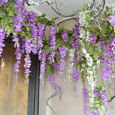 42 1 high quality artificial flower wisteria bine 1pc set