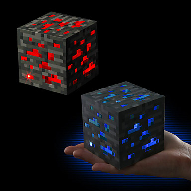 Light Up Redstone Ore / Bluestone Ore New & Boxed official ...