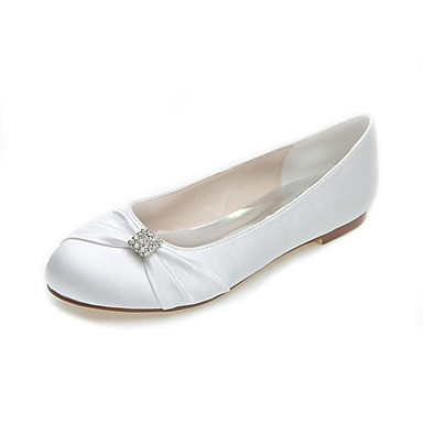 wedding shoes round toe flats wedding casual party evening black