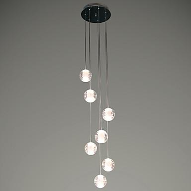 3 Lámparas Colgantes , Moderno / Contemporáneo Cromo ...