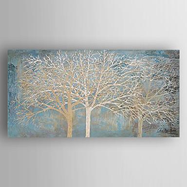 Handgeschilderde abstracte landschappenmodern e n paneel canvas hang geschilderd - Hang een doek ...