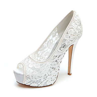 Women's Spring Summer Fall Platform Wedding Stiletto Heel Platform ...