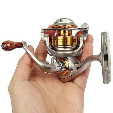 Spinning reel 5 2 1 5bb mini full metal fishing reel mini for Mini fishing reel