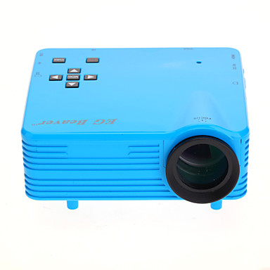 Eg beaver led1018 newest home theater projector led for Micro mini projector