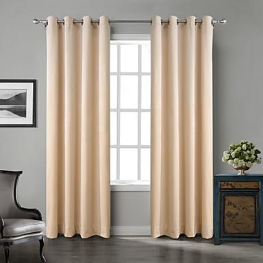 two panels chadmade solid matt finish velvet - Velvet Curtain