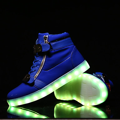 led light up shoes running shoes usb charging luminous shoes men 39 s casual shoes fashion. Black Bedroom Furniture Sets. Home Design Ideas