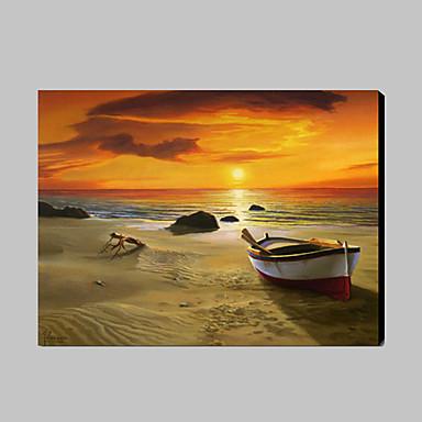 Peint la main paysage fantaisie peintures l 39 huile for Peinture a lhuile couleur argent