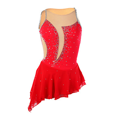 Robe de patinage femme sans manche patinage robes haute for Patinage exterieur