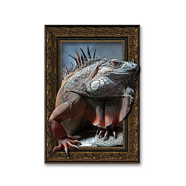 3d lizard night lights wall poster adhered pvc decorative skin wall stickers for bedroom 5917774 2017 1199 - Decorative Night Lights