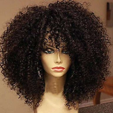 180 density brazilian hair lace wigs kinky curly lace
